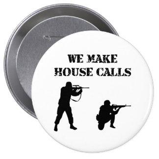 House Calls Pinback Button