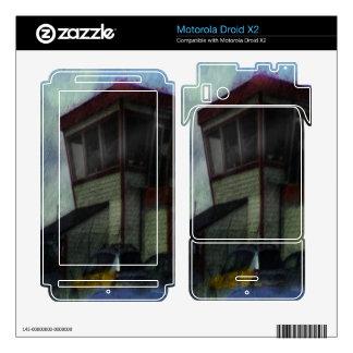 house car motorola droid x2 skins