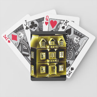 house cards bicycle playing cards
