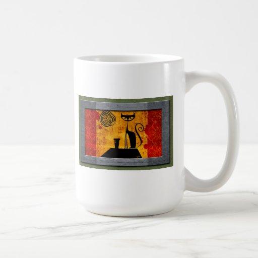 House cat coffee mugs