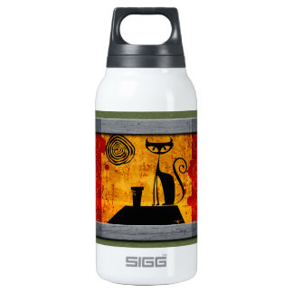 House Cat Insulated Water Bottle