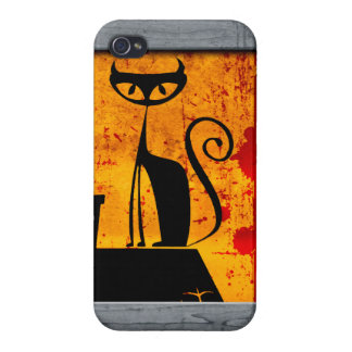 House Cat iPhone 4/4S Cases