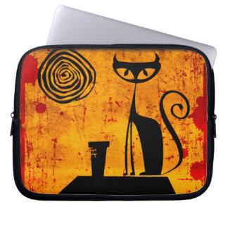 House Cat Laptop Sleeve