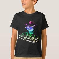HOUSE CAT (Rainbow DJ Cat) T-Shirt