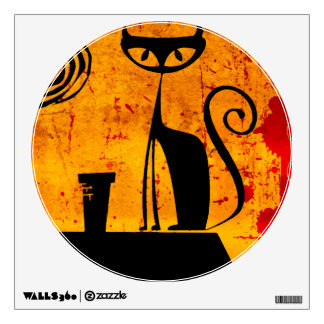 House Cat Wall Decal