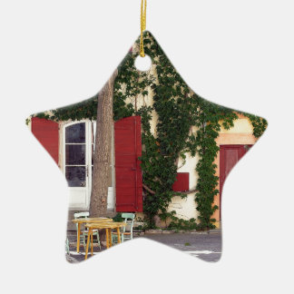 House Ceramic Ornament