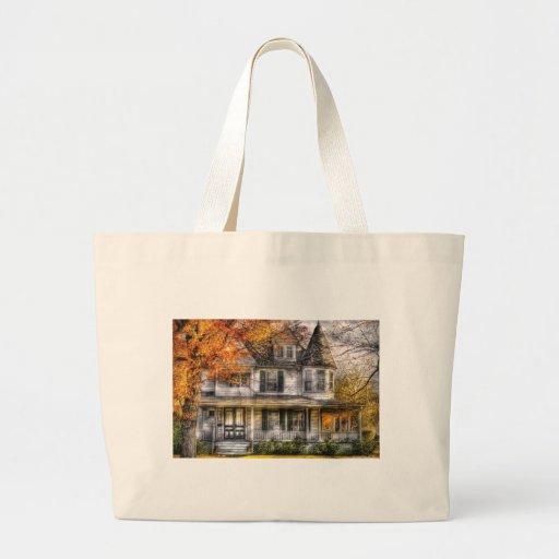 House - Classic Victorian Jumbo Tote Bag