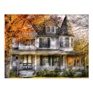 House - Classic Victorian Postcard