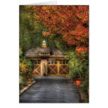 House - Classy Garage Greeting Cards