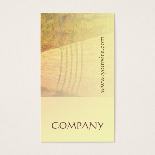 House Cleaning Broom Business Card