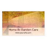 House Cleaning Broom Business Card Template