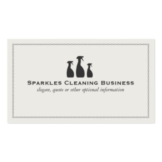 House Cleaning Business Business Card