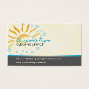 House cleaning business cards templates zazzle house cleaning business business card colourmoves