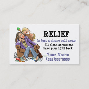 House cleaning business cards templates zazzle house cleaning business card2 business card colourmoves