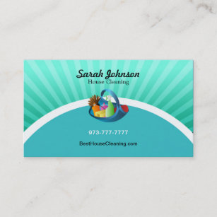 Green cleaning business cards zazzle house cleaning business card template accmission Gallery
