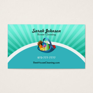 house cleaning business cards amp templates zazzle