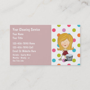 House cleaning business cards templates zazzle house cleaning business cards colourmoves