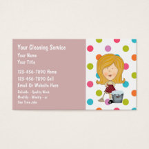 Housekeeping business cards templates zazzle colourmoves