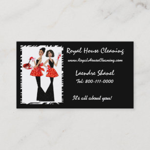 Janitorial business cards zazzle house cleaning business cards colourmoves