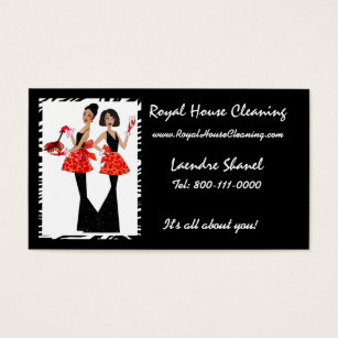House cleaning business cards templates zazzle house cleaning business cards colourmoves Images