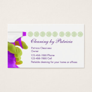 House cleaning business card selowithjo house cleaning business cards templates zazzle accmission Image collections