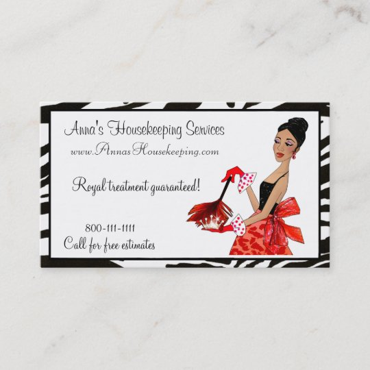 House cleaning diva african a business cards zazzle house cleaning diva african a business cards colourmoves