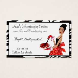 African business cards templates zazzle house cleaning diva african a business cards colourmoves Choice Image
