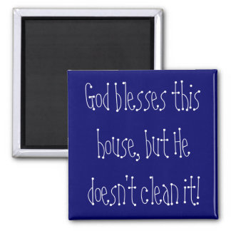 House cleaning magnet