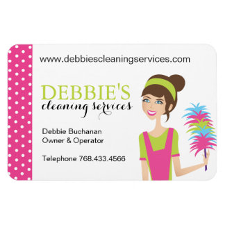 House Cleaning Marketing Magnets Rectangle Magnets