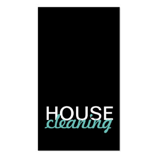 house cleaning punch card Double-Sided standard business cards (Pack of 100)