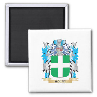 House Coat of Arms - Family Crest Fridge Magnets
