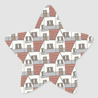 House collection star sticker