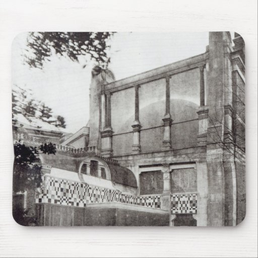 House de Sr. Alma Tadem, lado norte, 1889 Tapete De Ratones