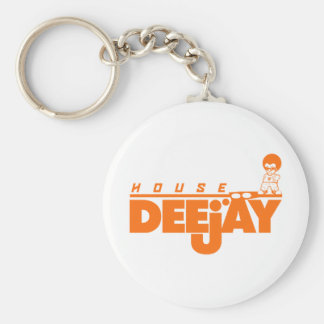 House Deejay Keychain