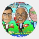 House Democrats Round Sticker