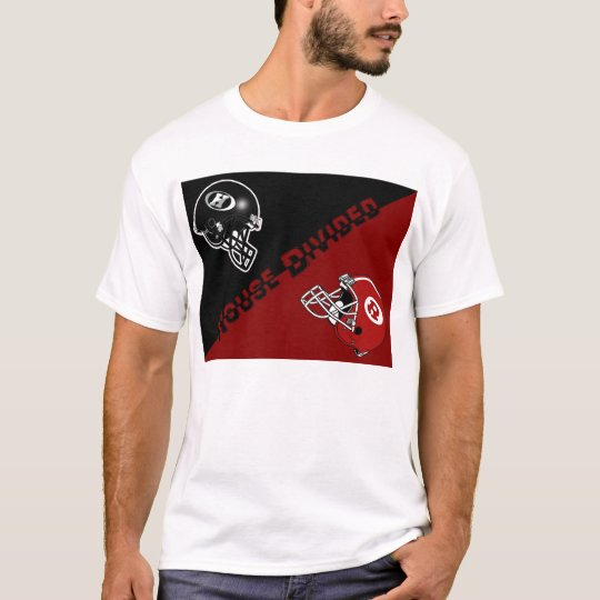 House Divided Houston County High Vs Warner Robins T-Shirt