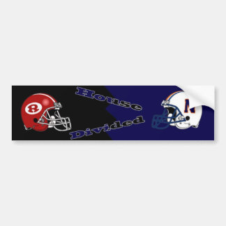 House Divided Warner Robins Vs. Northside Bumper Sticker