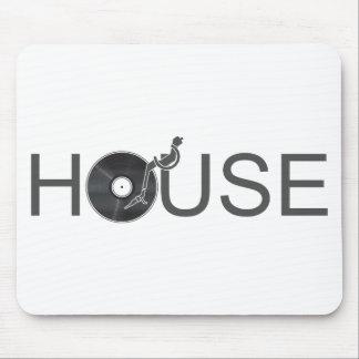 House DJ Turntable - Music Disc Jockey Vinyl Mouse Pad