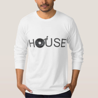 House DJ Turntable - Music Disc Jockey Vinyl Shirts