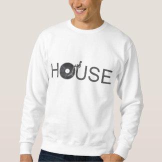 House DJ Turntable - Music Disc Jockey Vinyl Sweatshirt
