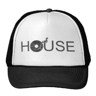 House DJ Turntable - Music Disc Jockey Vinyl Trucker Hat