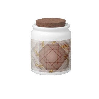 house door kaleidoscope candy jars