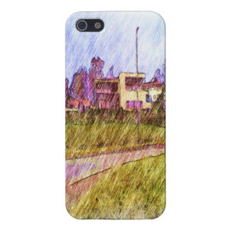 House drawing iPhone 5 cover