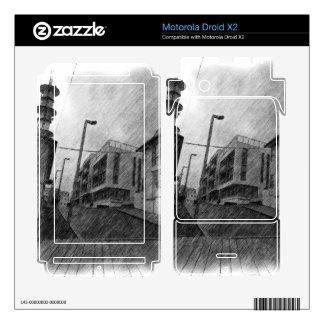 House drawing motorola droid x2 skin