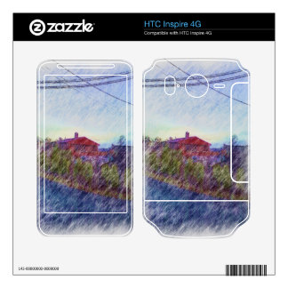 House drawing skins for HTC inspire 4G