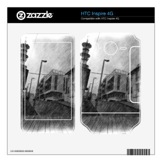 House drawing HTC inspire 4G skins