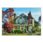 House - Dream House Fantasy Greeting Cards