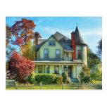 House - Dream House Fantasy Postcard