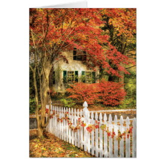 House - Festive Greeting Card