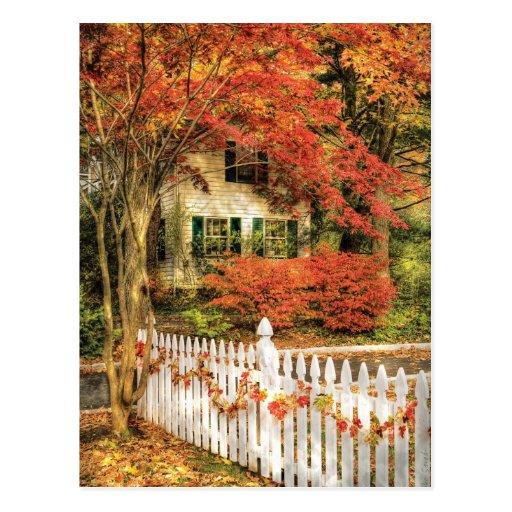 House - Festive Postcard